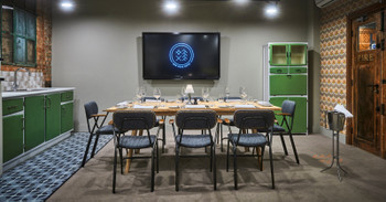 Boardroom style Kitchen Meeting Room